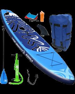320 Kohala SUP - Stand Up Paddle Surfboard I 320x81x15cm | blau