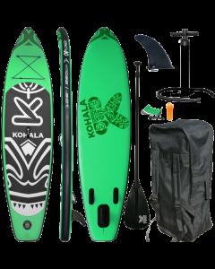 320 Kohala SUP - Stand Up Paddle Surfboard I 320x81x15cm | grün