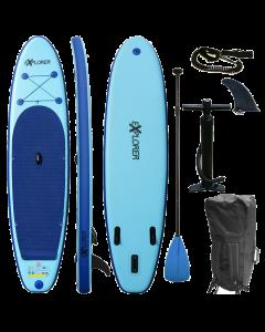 320 eXplorer SUP - Stand Up Paddle Surfboard I 320x76x15cm | blau