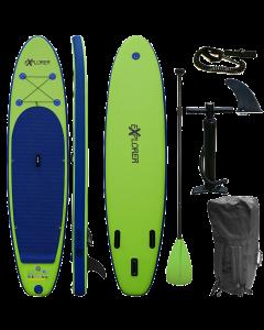 320 eXplorer SUP - Stand Up Paddle Surfboard I 320x76x15cm | grün