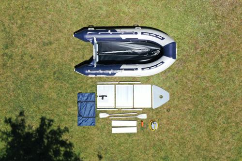 Schlauchboot Aluboden Set Einzelteile